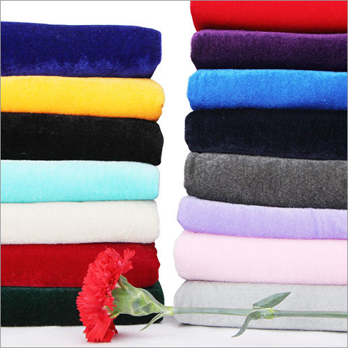 Polyester Coral Fleece Double side Fabric