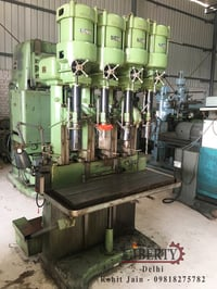 All Geared Gang Drilling Machine