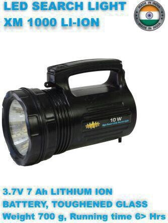 Power Flashlight XM-1000-LI-ION