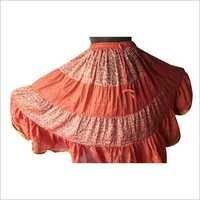 Orange Skirt