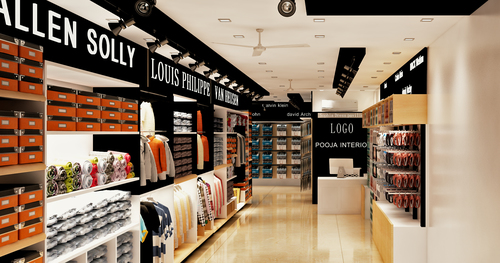 Garment Showroom Interior Design Services In Kalkaji New Delhi