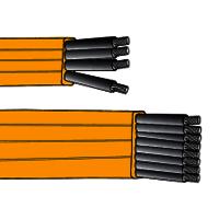 Festoon Flat Cable