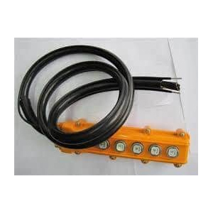 Cable with Dual Strain Relief