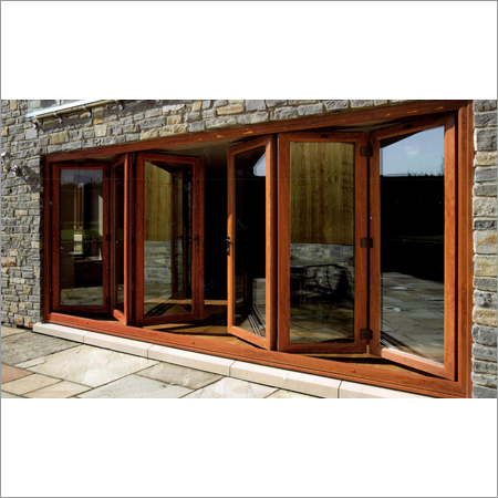 Wood Stacking Folding Doors Systems