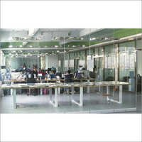 Acoustic Frameless Glass Partition