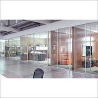Sio Acoustic Framed Glass Partition