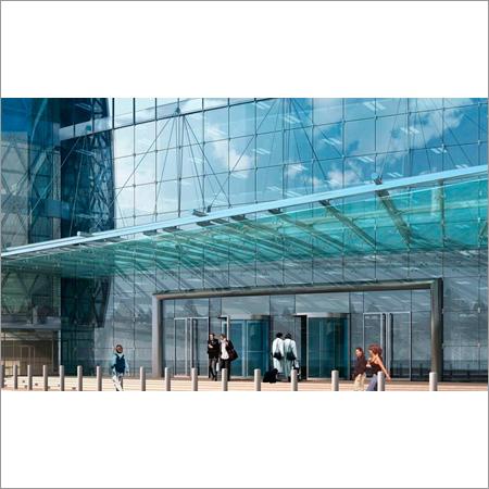 Frameless Glass Canopy