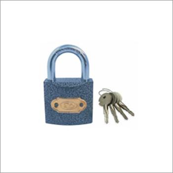 Star Key Iron Padlock