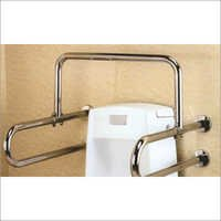 Handicap Toilet Support Rail