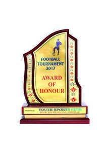 Wooden Trophy