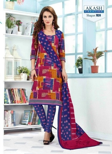 Low Range Cotton Printed Salwar Suit