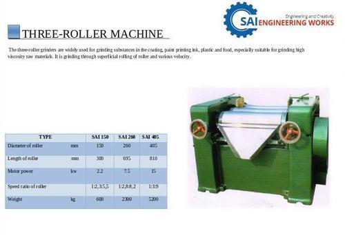 Three Roller Machine