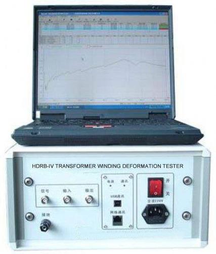 Transformer winding deformation tester