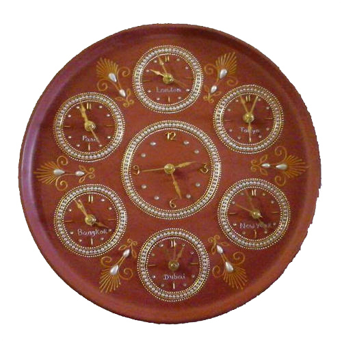 Adorning Clock