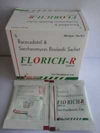 RACECADOTRIL 15 MG &SACCHAROMYCES BOULARDII 282.5 MG