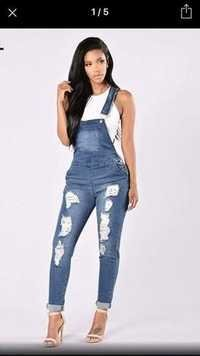 Fancy Jumpsuit Jeans For Girls