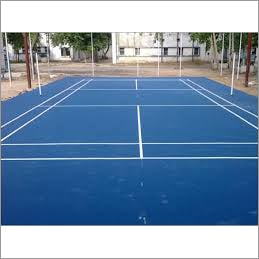 Synthetic Badminton Flooring Indoor & Outdoor