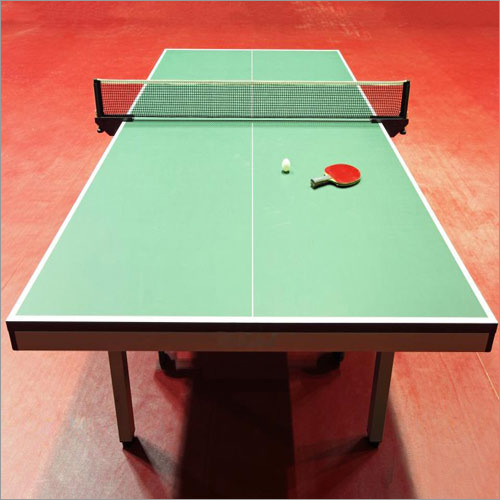 Table Tennis Synthetic Flooring