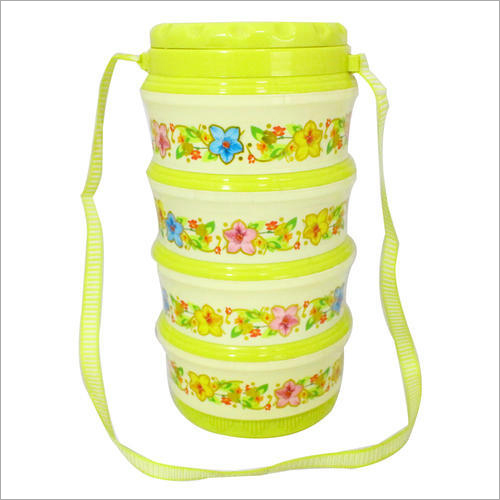 Neon Green Lunch Box