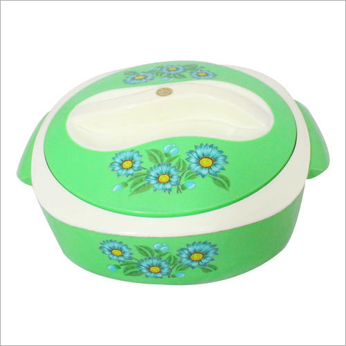 Floral  Printed Plastic Casserole