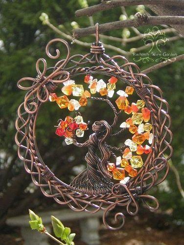 Celtic Goddess Tree of Life Pendant