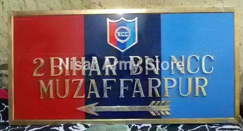 Military Name Plate
