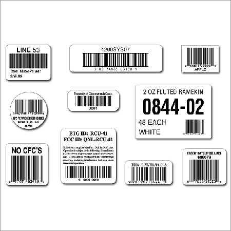 Barcode Label Stickers