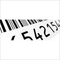 Automobile Barcode Label