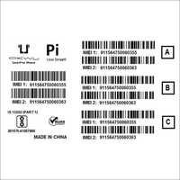 IMEI Barcode Stickers for Mobile