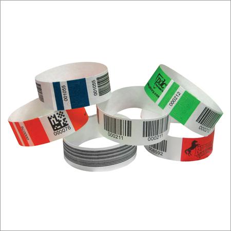 Barcode Ticket Wrist Bands