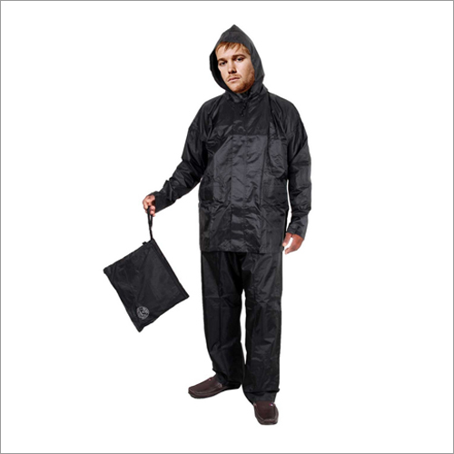 Duckback Solid Black Rain Coat
