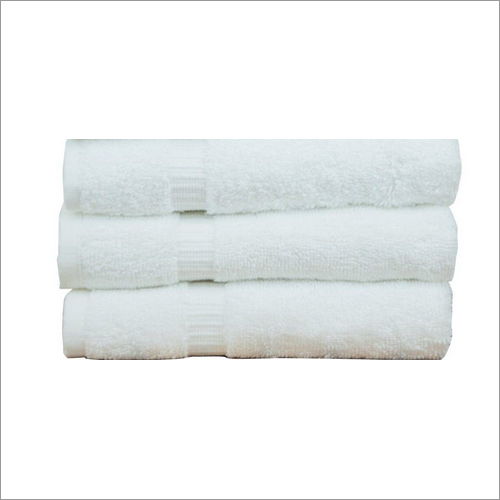 White Bath Towel Set of 3