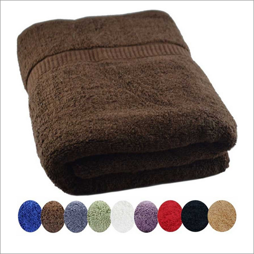 Jumbo 36 x 72 Size Cotton Bath Towel - Brown