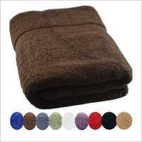Jumbo 36 x 72 Size Cotton Bath Towel - Brown
