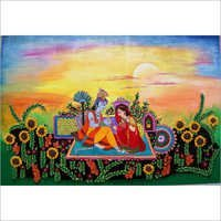 Radha Krishna Love Painting