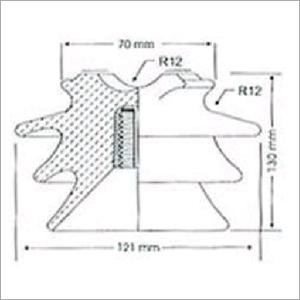 11 KV Pin Insulator SC-PN-1102