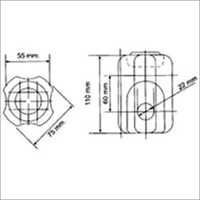 Guy Strain Insulator SC-Guy-100-75