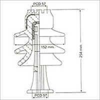 Post Insulator SC PT 1101