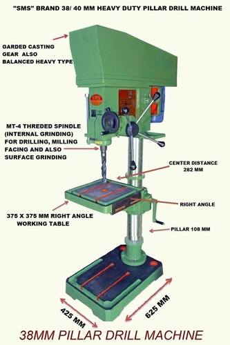 40 MM Pillar Drill Machines