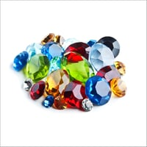 Glass Gemstones