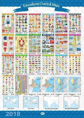 EDUCATIONAL CHARTS & MAPS