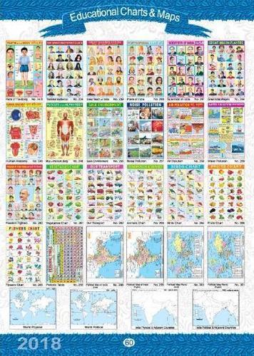 EDUCATIONAL CHARTS & MAPS