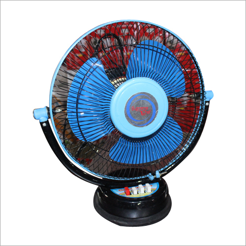 Blue Colour 3 Blades Table Fan