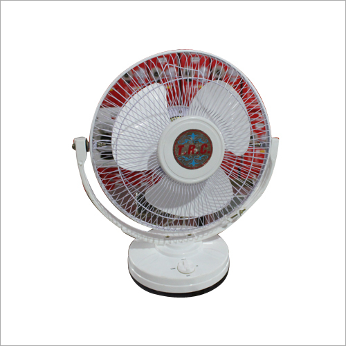White Colour 3 Blades Table Fan