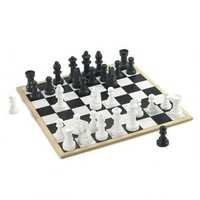 CS Wooden Chess Game Set Pepper Mill (Jumbo)