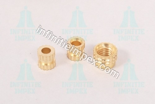 Brass Straight Knurling Inserts Nut
