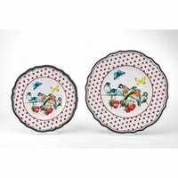 MM-FF30-1 Round Salad And Dinner Plate