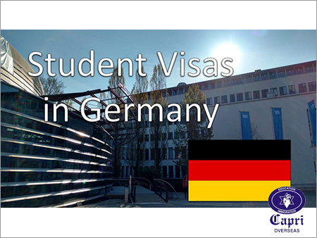 Student Visa For Germany