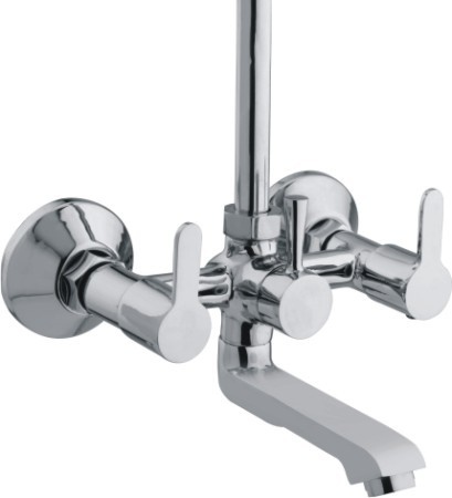 Wall Mixer Tele with L Bend