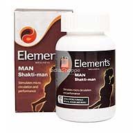 Elements Man Shakti Man 60Caps
